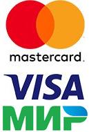 VISA/Mastercard/Мир