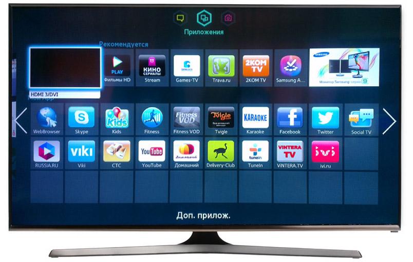Смарт ТВ на телевизоре